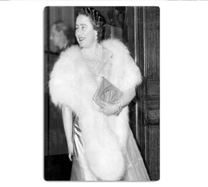 The Queen Mother on a night out at the Coliseum HD Metal Print