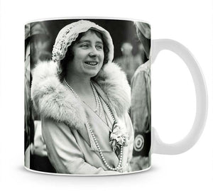 The Queen Mother opening a new hospital extension Mug - Canvas Art Rocks - 1
