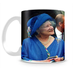 The Queen Mother with Prince William and Prince Harry Mug - Canvas Art Rocks - 2