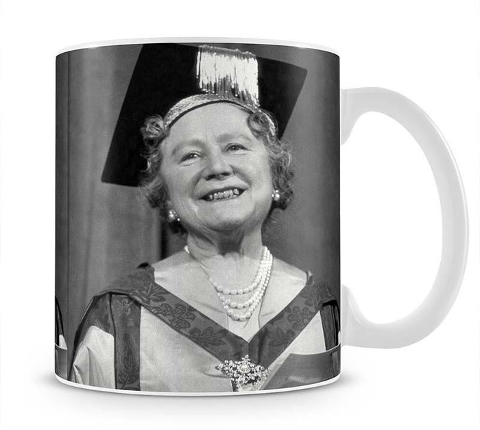 The Queen Mother with her honorary music degree Mug
