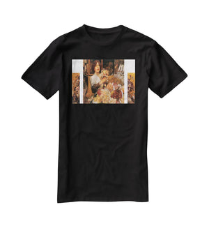 The Rose girls by Hassam T-Shirt - Canvas Art Rocks - 1