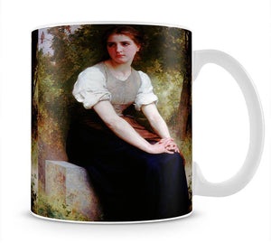 The Song of the Nightingale By Bouguereau Mug - Canvas Art Rocks - 1