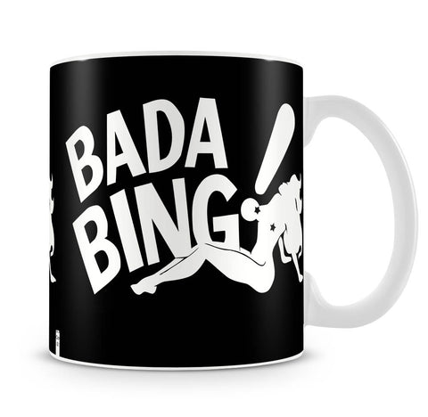 The Sopranos Bada Bing Mug