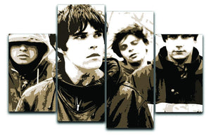 The Stone Roses 4 Split Panel Canvas  - Canvas Art Rocks - 1