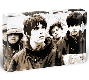 The Stone Roses Acrylic Block - Canvas Art Rocks - 1