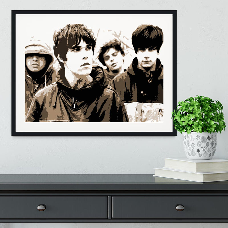 The Stone Roses Framed Print Canvas Art Rocks 1