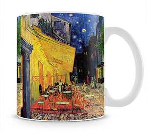 The Terrace Cafe by Van Gogh Mug - Canvas Art Rocks - 1