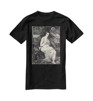 The Toillette by Manet T-Shirt - Canvas Art Rocks - 1