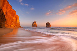 The Twelve Apostles Wall Mural Wallpaper - Canvas Art Rocks - 1