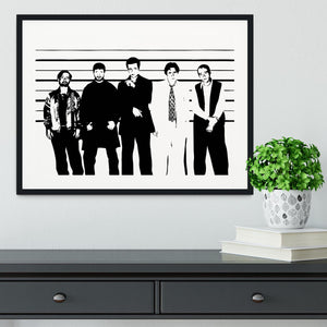 The Usual Suspect Framed Print - Canvas Art Rocks - 1