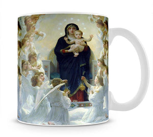 The Virgin With Angels By Bouguereau Mug - Canvas Art Rocks - 1