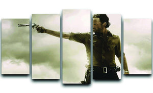 The Walking Dead 5 Split Panel Canvas  - Canvas Art Rocks - 1