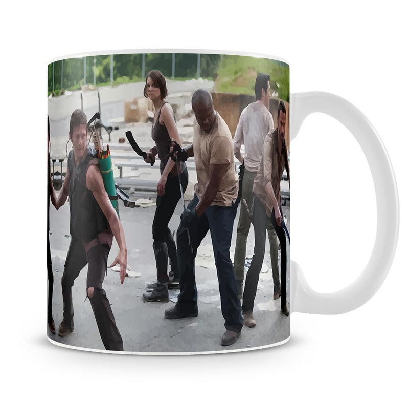 The Walking Dead Cast Mug - Canvas Art Rocks