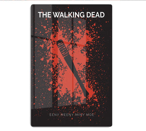 The Walking Dead Eeny Meeny Minimal Movie HD Metal Print