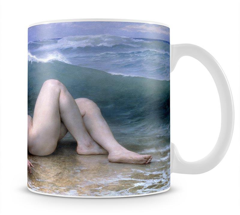 The Wave By Bouguereau Mug - Canvas Art Rocks - 1
