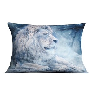 The White Lion Cushion