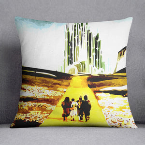 The Wizard Of Oz Yellow Brick Road Cushion