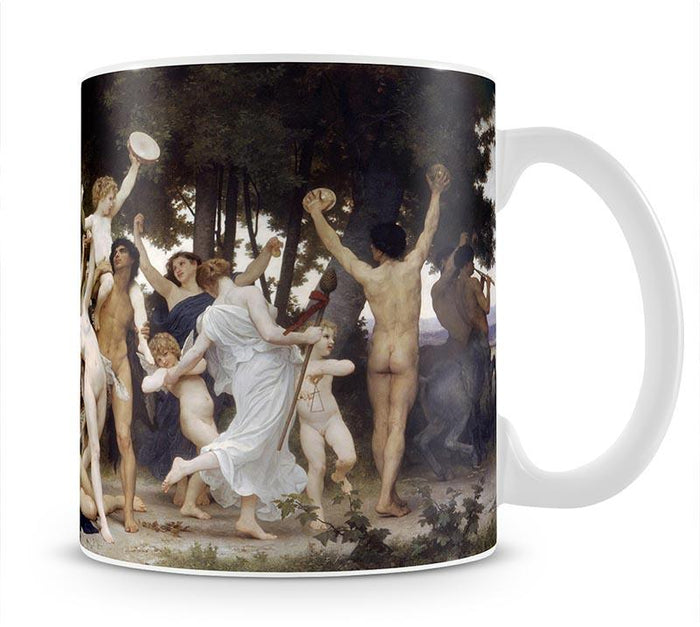 The Youth of Bacchus By Bouguereau Mug