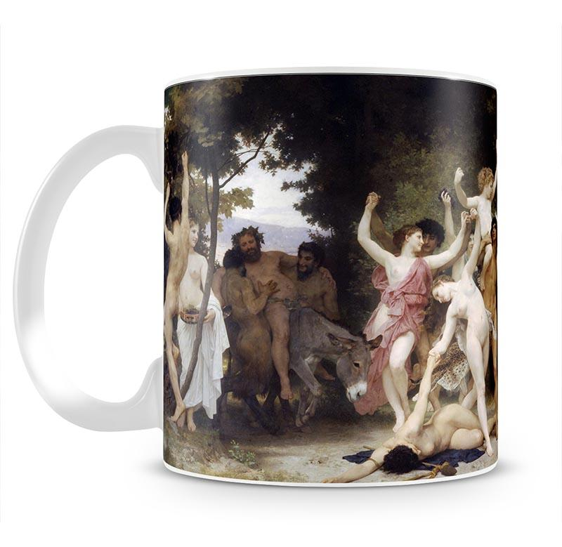 The Youth of Bacchus By Bouguereau Mug - Canvas Art Rocks - 2
