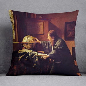 The astronomer by Vermeer Cushion