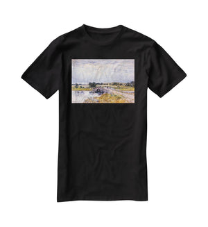 The bridge from Old Lyme by Hassam T-Shirt - Canvas Art Rocks - 1