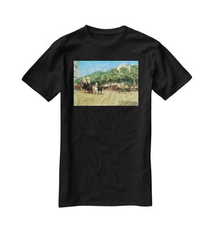 The day of the Grand Prize 1 by Hassam T-Shirt - Canvas Art Rocks - 1