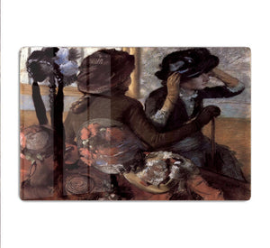 The milliner 1 by Degas HD Metal Print - Canvas Art Rocks - 1