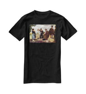 The old musician by Manet T-Shirt - Canvas Art Rocks - 1