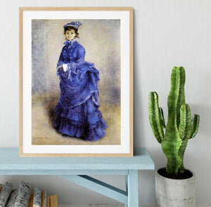 The parisian by Renoir Framed Print - Canvas Art Rocks - 3