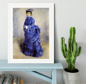 The parisian by Renoir Framed Print - Canvas Art Rocks - 5