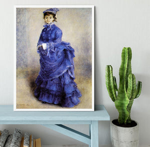 The parisian by Renoir Framed Print - Canvas Art Rocks -6