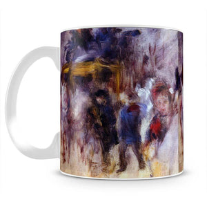 The place Clichy Detail by Renoir Mug - Canvas Art Rocks - 2
