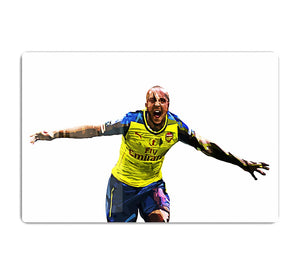 Theo Walcott Cup Final Goal HD Metal Print
