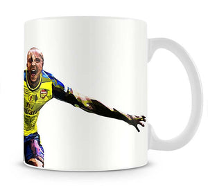 Theo Walcott Cup Final Goal Mug - Canvas Art Rocks - 1