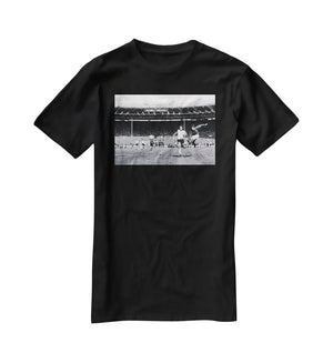 They think its all over Geoff Hurst Goal T-Shirt - Canvas Art Rocks - 1