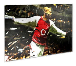 Thierry Henry Metal Print - Canvas Art Rocks - 1