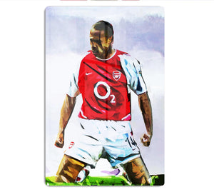 Thierry Henry Kneeslide HD Metal Print