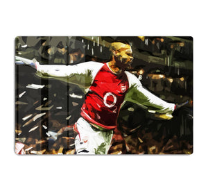 Thierry Henry Legend HD Metal Print
