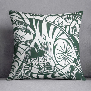 Tiger by Franz Marc Cushion