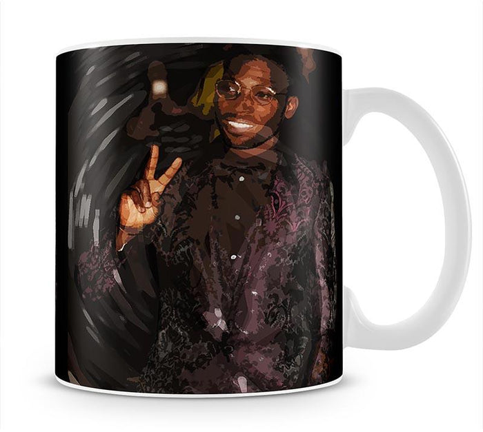 Tinie Tempah Pop Art Peace Mug