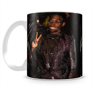 Tinie Tempah Pop Art Peace Mug - Canvas Art Rocks - 2