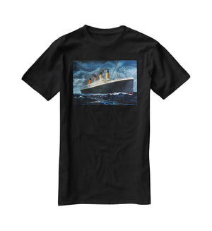 Titanic T-Shirt - Canvas Art Rocks - 1