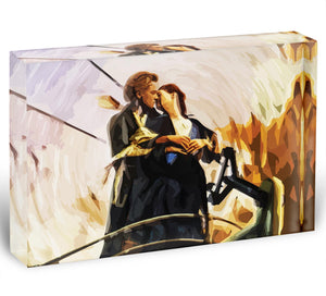Titanic Jack And Rose Acrylic Block - Canvas Art Rocks - 1
