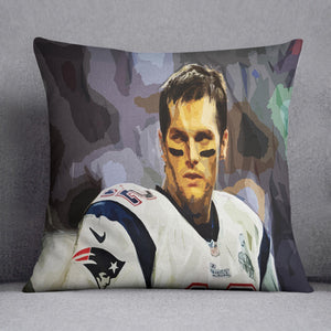 Tom Brady New England Patriots Cushion