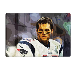 Tom Brady New England Patriots HD Metal Print