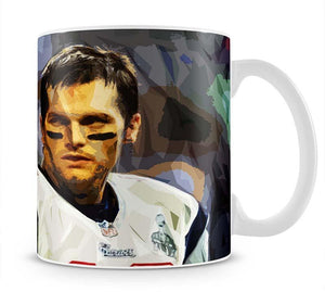 Tom Brady New England Patriots Mug - Canvas Art Rocks - 1