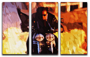 Tom Cruise in Mission Impossible 3 Split Panel Canvas Print - Canvas Art Rocks - 4