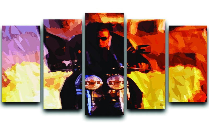 Tom Cruise in Mission Impossible 5 Split Panel Canvas  - Canvas Art Rocks - 1