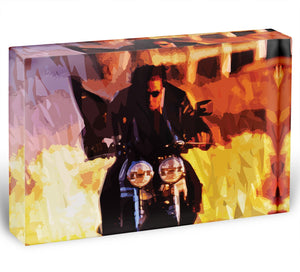 Tom Cruise in Mission Impossible Acrylic Block - Canvas Art Rocks - 1