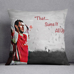 Tony Adams That Sums It All Up Cushion